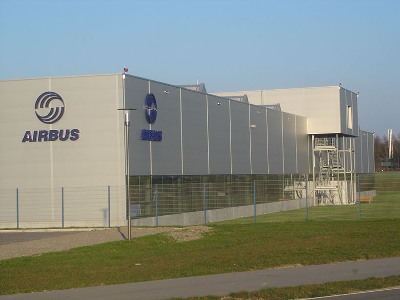 Airbus_Fertigungshalle A380 Laupheim