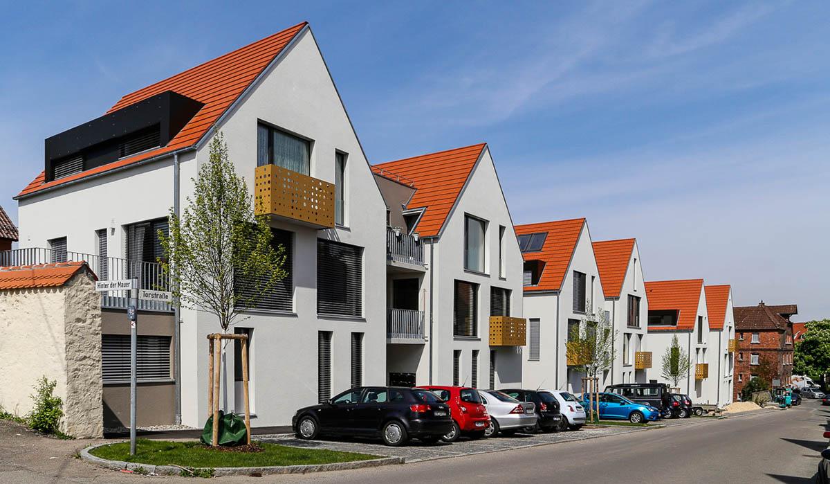 Bebauung Torstraße - Ulm - Firma Casa Nova