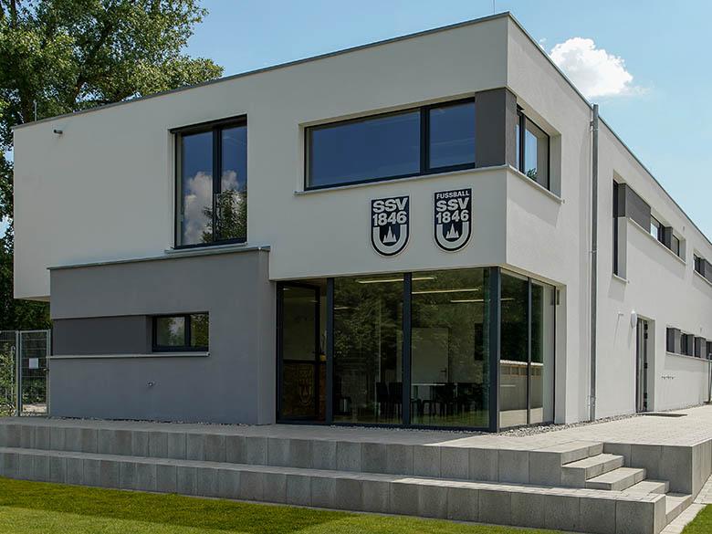 SSV Ulm 1846 e.V. Umkleidegebäude – Firma Casa Nova