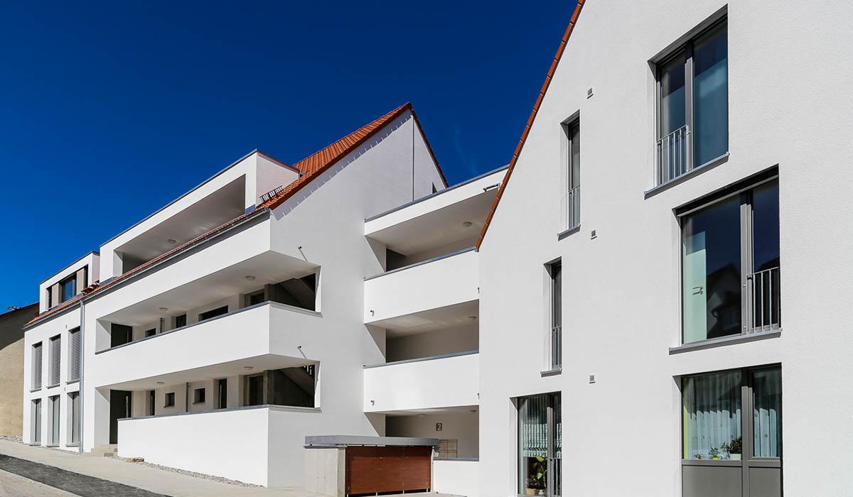 Bebauung Altes Rathaus-Areal - Bad Überkingen - Firma Casa Nova