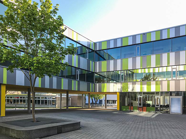 Erweiterungsbau für Gymnasium u. Realschule, Laupheim
