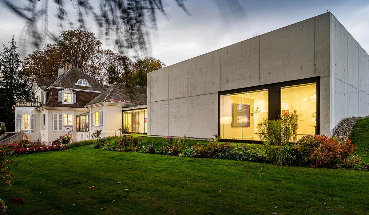 Kunsthallenanbau - Villa Rot