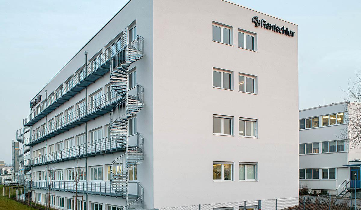 Laborgebäude in Laupheim - Firma Rentschler