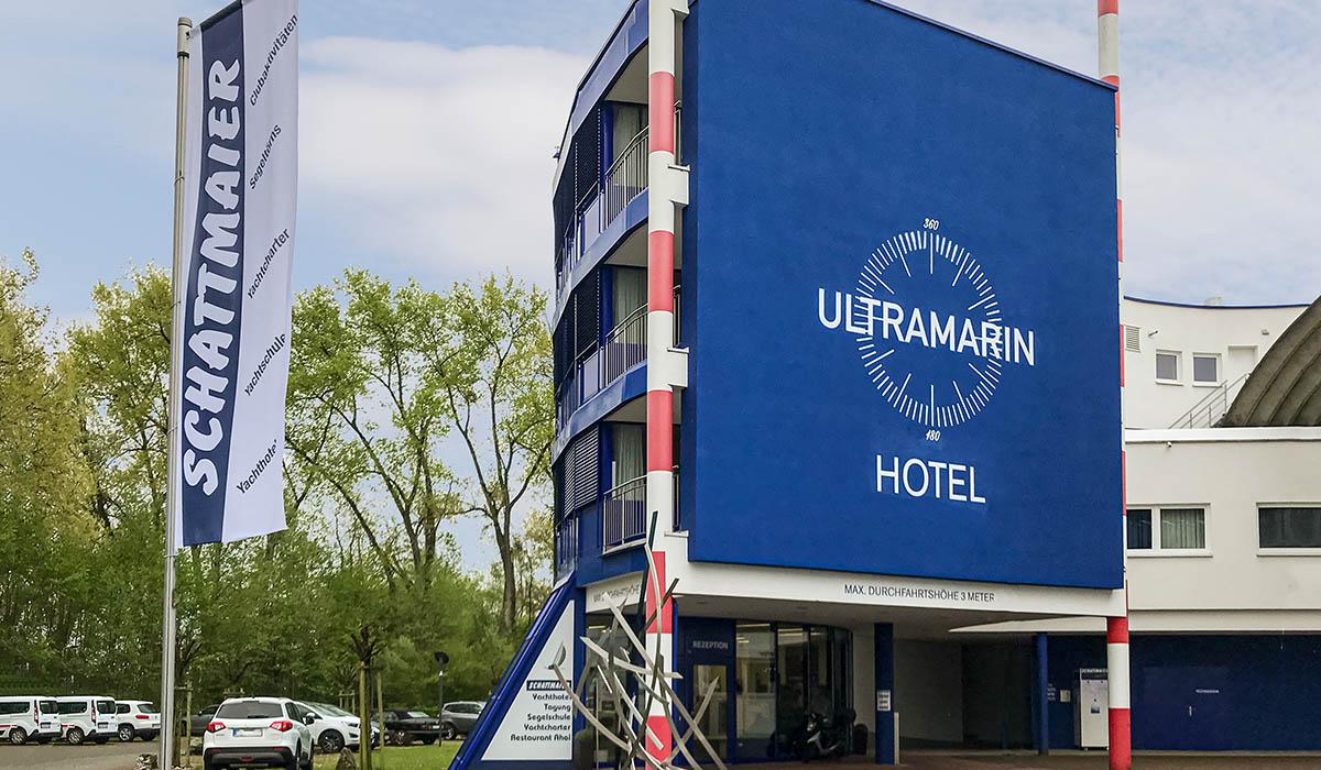 ULTRAMARIN-Hotel in Kressbronn-Gohren