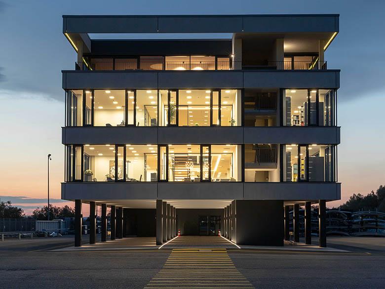 Verwaltungsgebäude in Laupheim - Firma Inter-Protect