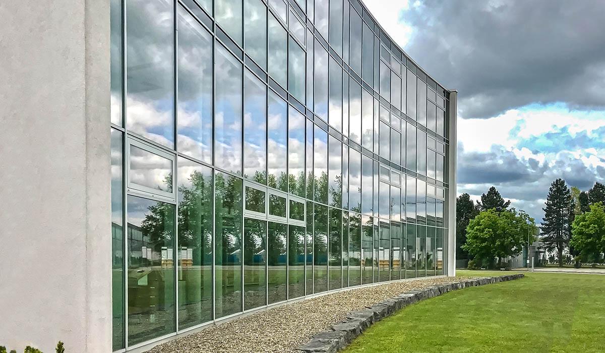 Verwaltungsgebäude in Laupheim - Firma Rentschler