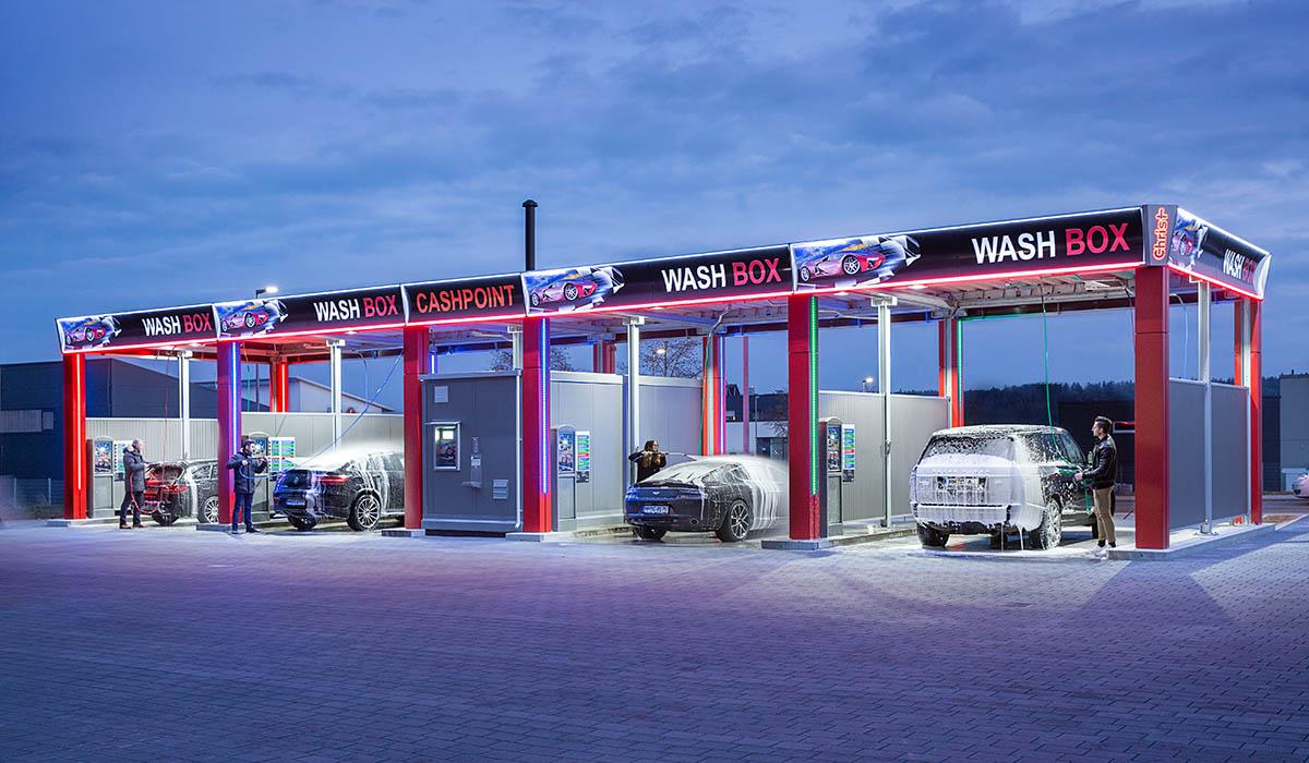 Waschpark_Sykline - Firma Christ in Memmingen - Typenstatik