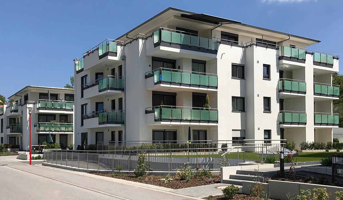 Wohnanlage Imhof -Mittelbiberach - Firma Grundbesitzgesellsachaft